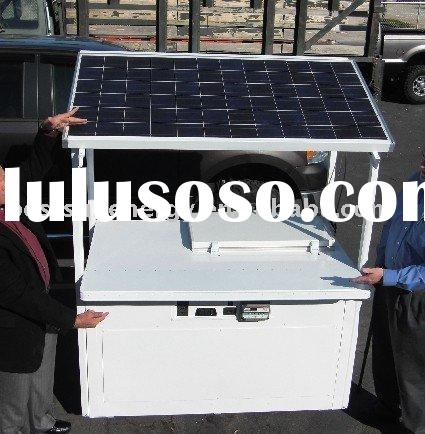 800w portable solar power generator system