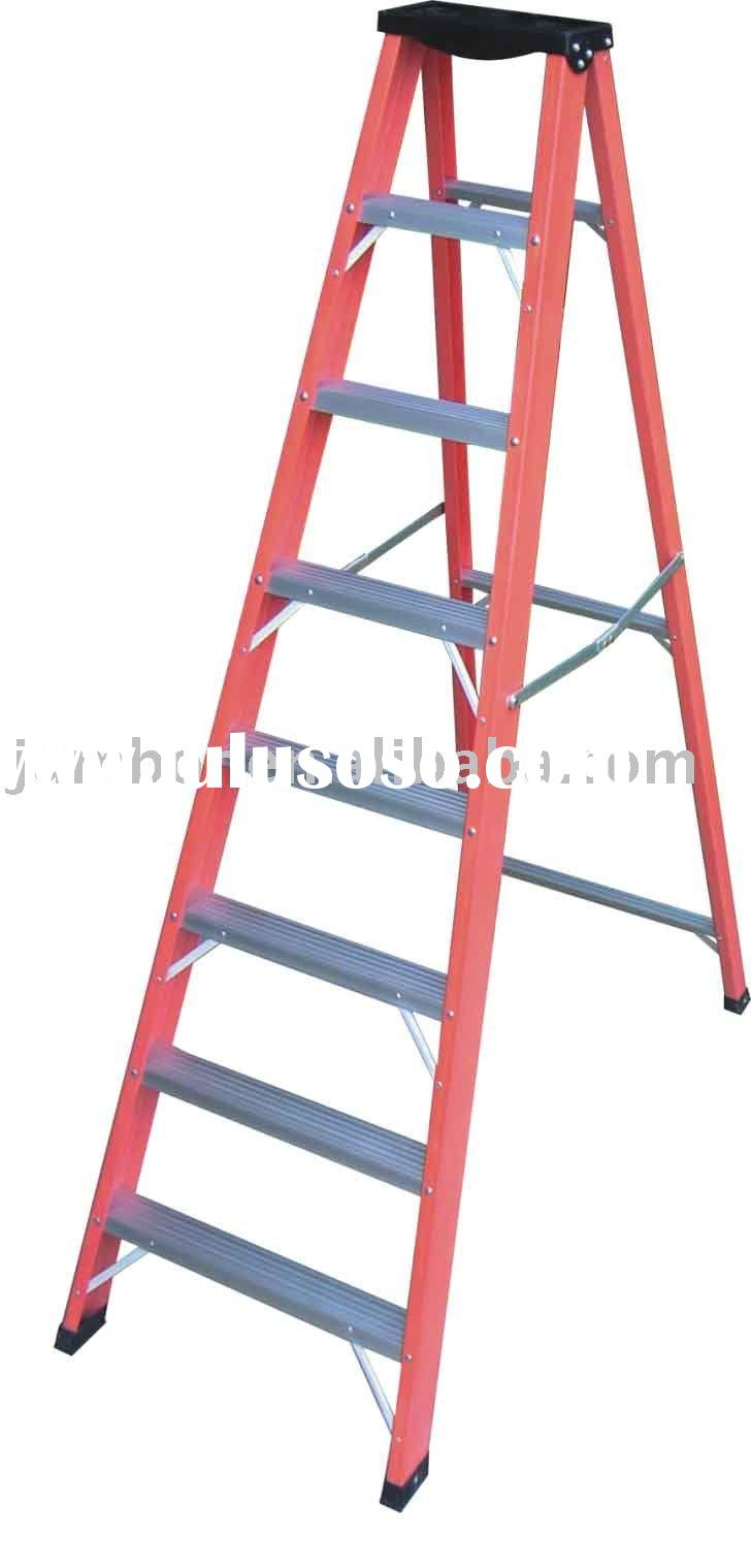 Extra Durable 2 Step Step Ladder Chair Safetly Locks For