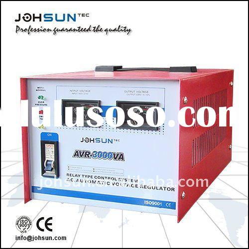 AVR AC Automatic Relay Type Electric Voltage Stabilizer