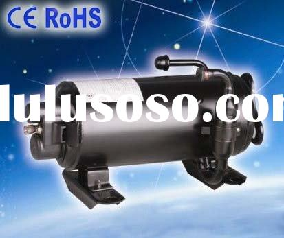 Air cooled Refrigeration & Heat Exchange horizontal rotary compressor for traveling truck campin