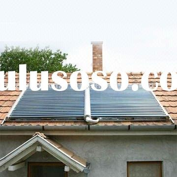 All Glass Horizontal Vacuum Tube Solar Collector System