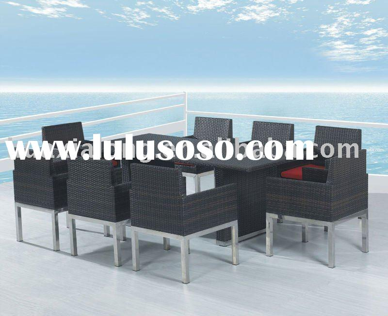 All Weather Outdoor Rattan Furniture Set on Sale (STOCK)