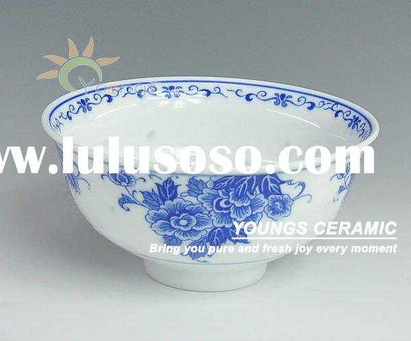 Antique chinese blue and white porcelain bowls