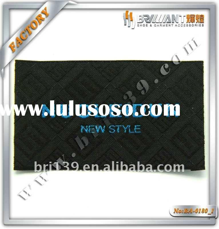 Attractive custom metal clothing labels soft
