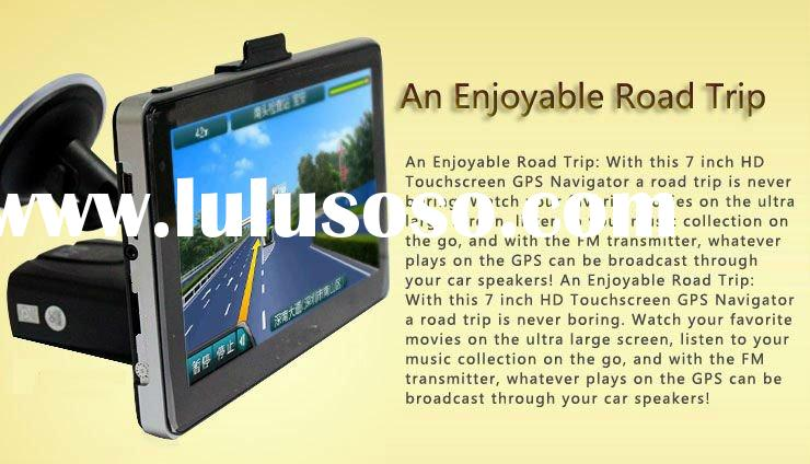 BEST GPS REVIEW 2011 Touch screen Portable Car GPS igo 8 map