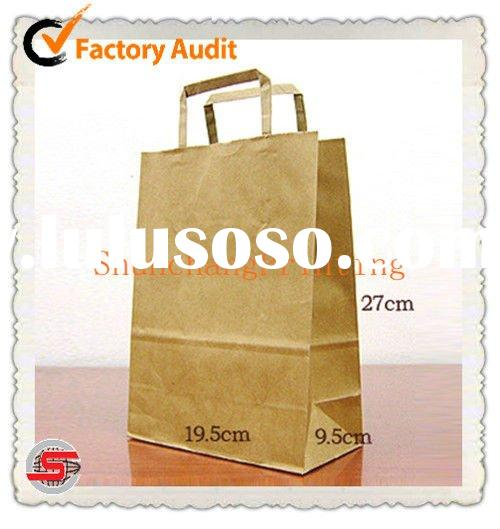 Basic Kraft Paper Bags with Handle