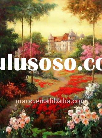 Beautiful oil paintings landscape natural