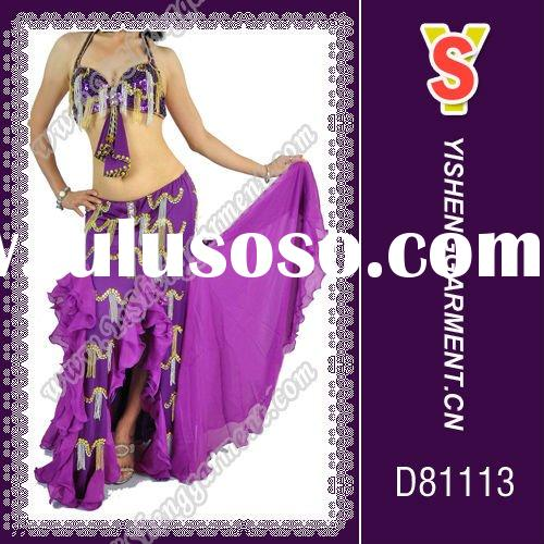 Belly dance costume set, good chinese belly dance wear