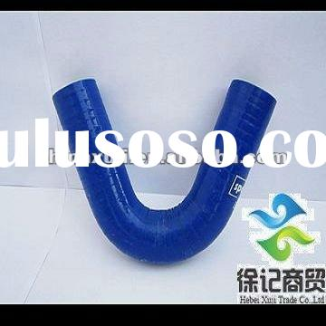 Bending silicone turbo hose