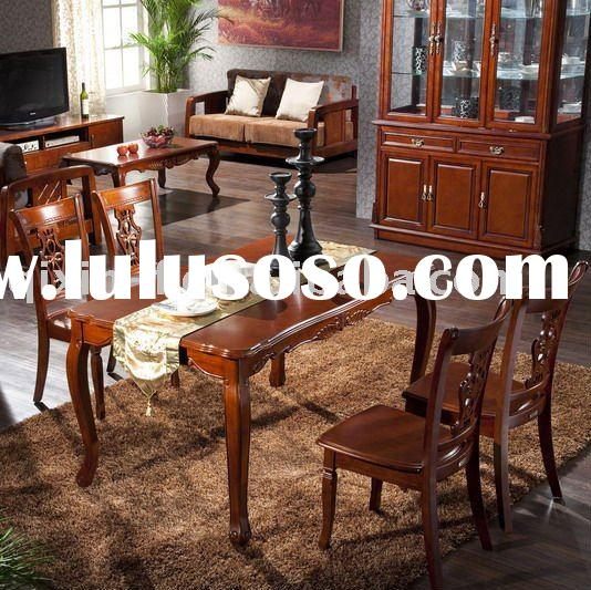 Best-Selling Wooden Dining Room Furniture Set Table236# & Chair B26#