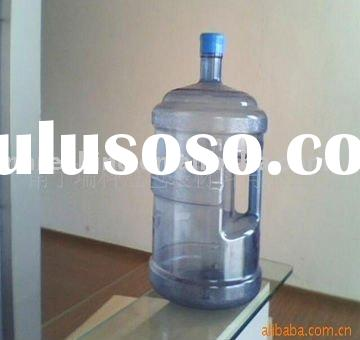 Blue 5 Gallon Water Bottle with handle