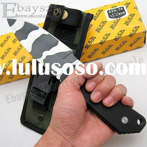 Buck 888 Fixed Blade Knife, Tactical Knife, Fighting Knife, Hunting Knife DZ-150