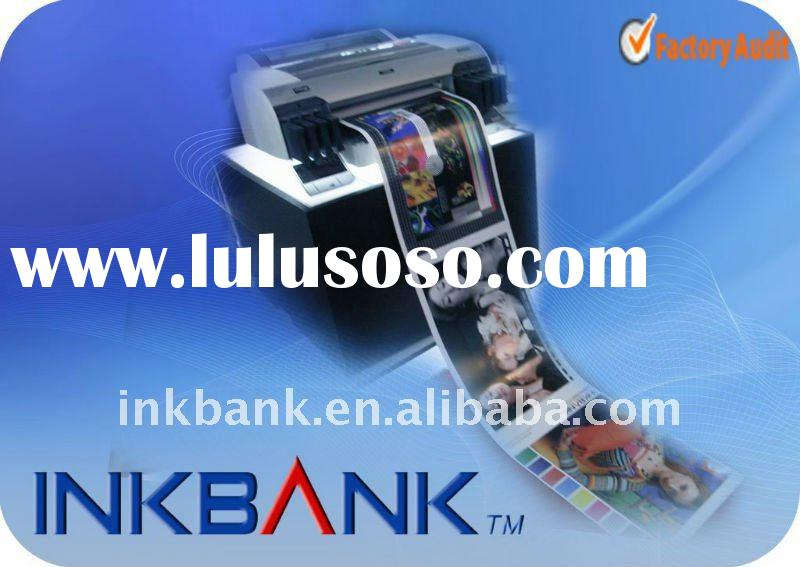 Bulk sublimation ink for use in Epson desktop printers