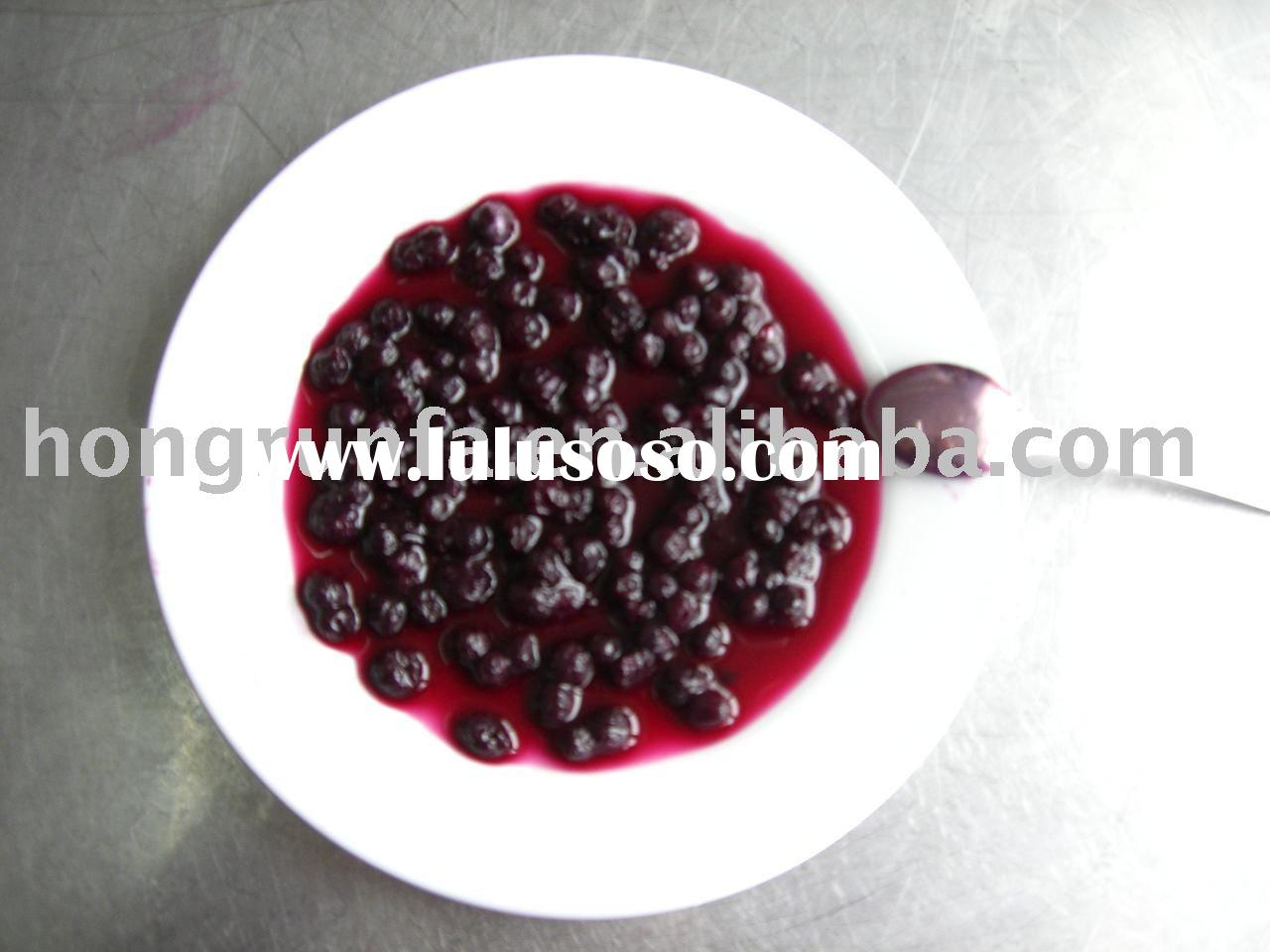 Canned Blueberry in Light Syrup