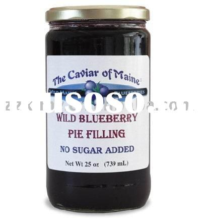 Canned Blueberry jam
