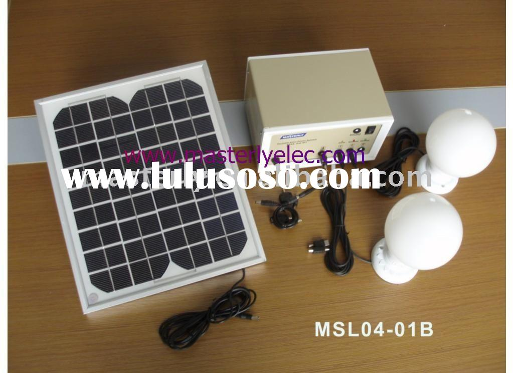 Cheap mini solar lighting system with Phone charger