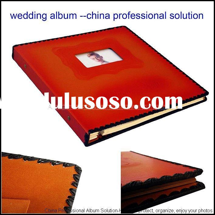 China Professional Wedding Photo Album(CLASSIC STYLE)