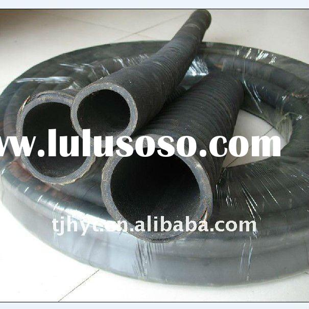 China lowest price fabric reinforced rubber hose roughness
