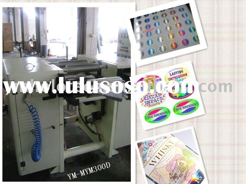 Chinese CE Narrow Web Sticker Embossing Machine