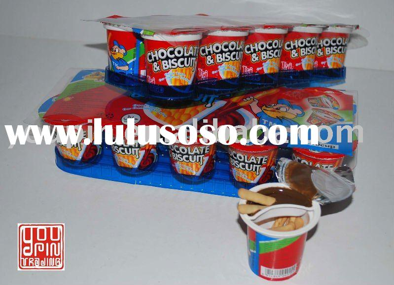 Chocolate & Biscuit In Cup