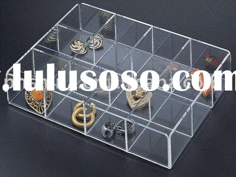 Clear Acrylic Jewelry Box/Case/Container