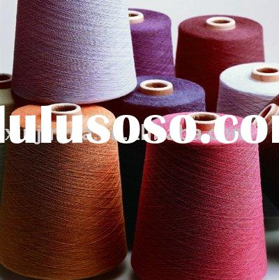 Colored Spun Yarn, Polyester/cotton Blended Yarn For Knitting