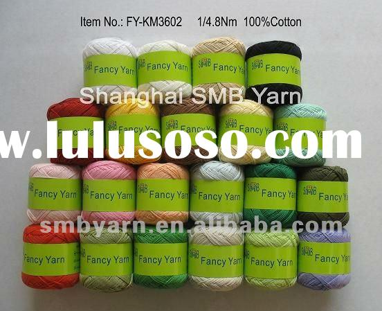 Combed Cotton Yarn for hand knitting FY-KM3602