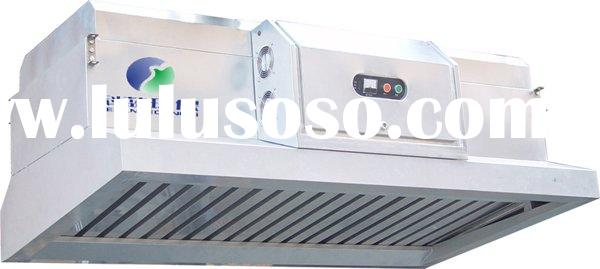 Commercial Kitchen Chimney Hood with Electrostatic Exhaust Filters