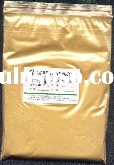 Cosmetic Grade Pearlescent Pigment (LB4513 Golden Yellow cosmetic pigment, pearlescent pigment powde
