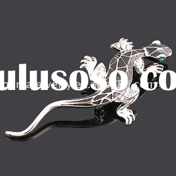Costume Jewelry, Fashion Jewelry Animal Lizard Jewelry Brooch