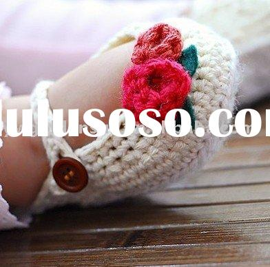 Crochet Baby Shoes ( 4120 )