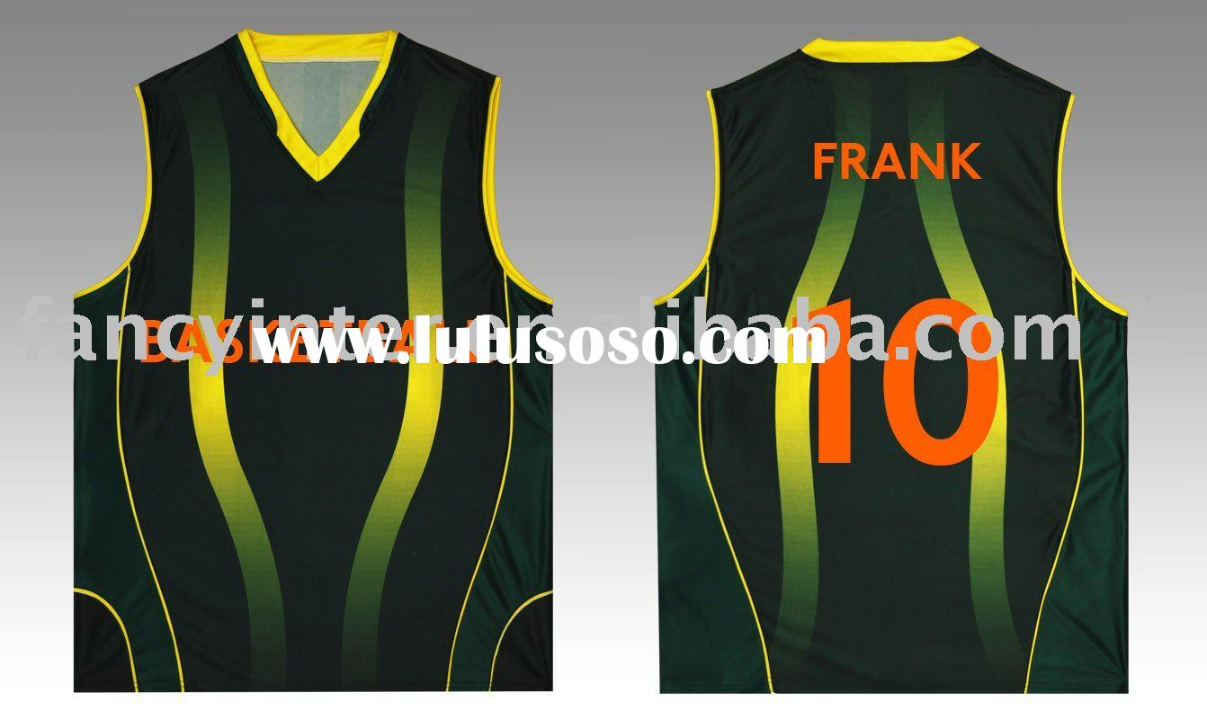 Fashion New Custom Basketball Jersey And Short For Sale Price