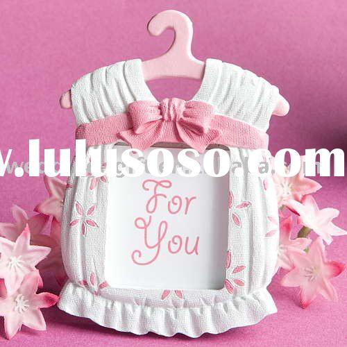 Cute baby themed photo frame wedding gift