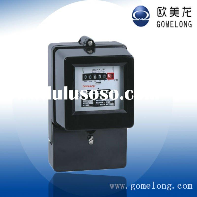 DD862 Single phase Induction energy meters