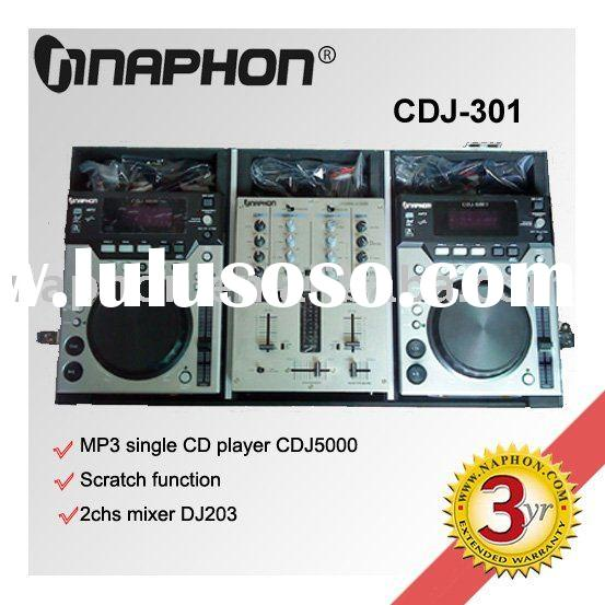 DJ combination CDJ 301 CDJ player + DJ Mixer