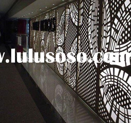 Decorative perforated metal screen / perforated metal mesh ( Manufacture & Exporter)