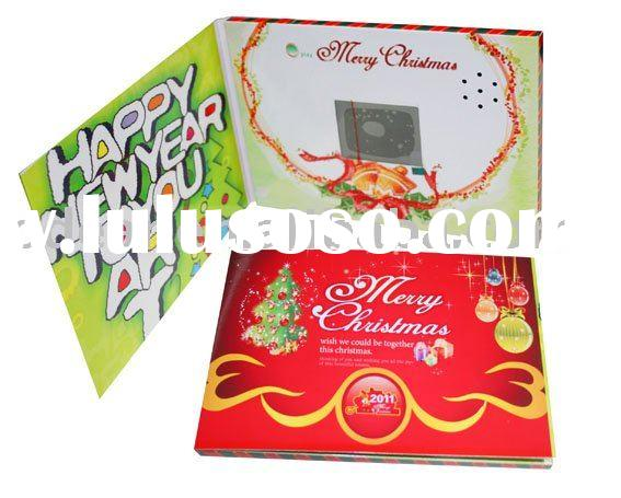Deluxe LCD greeting card