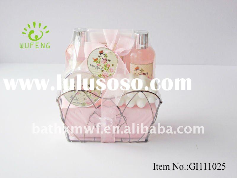 Deluxe Rose Petal Shampoo And Body Lotion