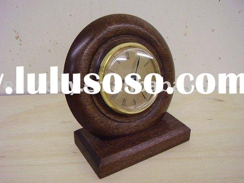 Desk Clock,small desk clock,wooden desk clock,alarm clock,gift clock,clock