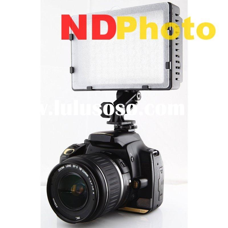 Digital Camera Accessory Pro 126-LED Video Light for Canon 550D 5D II 7D