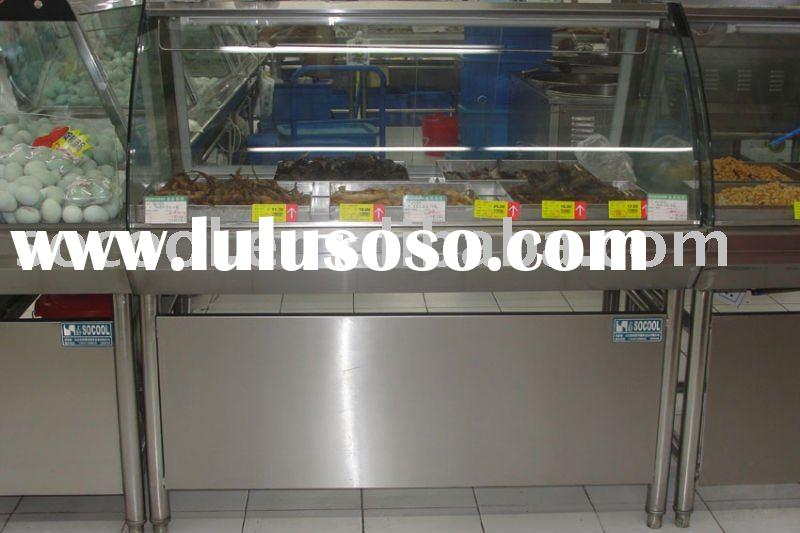 Display Table, Food Display Cabinet, Supermarket Equipment