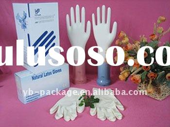 Disposable Medical Latex Gloves (100% Natural Rubber)