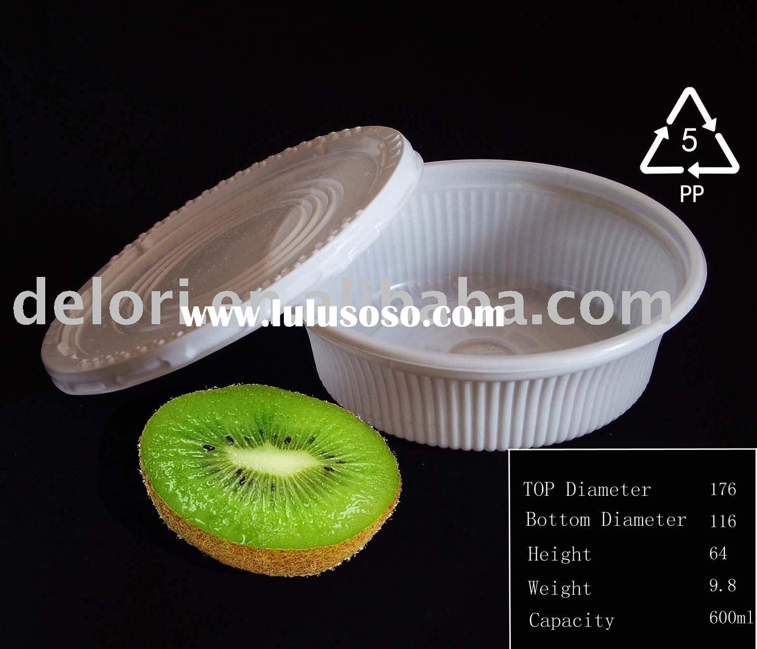 Disposable PP plastic bowl