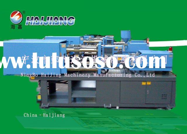 Double color plastic injection molding machinery