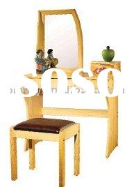 Dressing mirror and table
