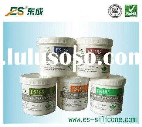 ES- hot sell Silver CPU Heatsink Thermal Grease/Heatsink Compound Paste Packaged In Needle Syringe