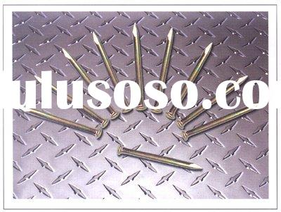 E-galvanized concrete nail for construction