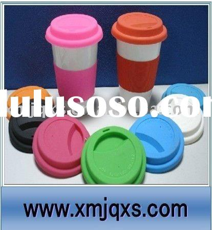 Eco-friendly Custom silicone coffee cup cover with factory price