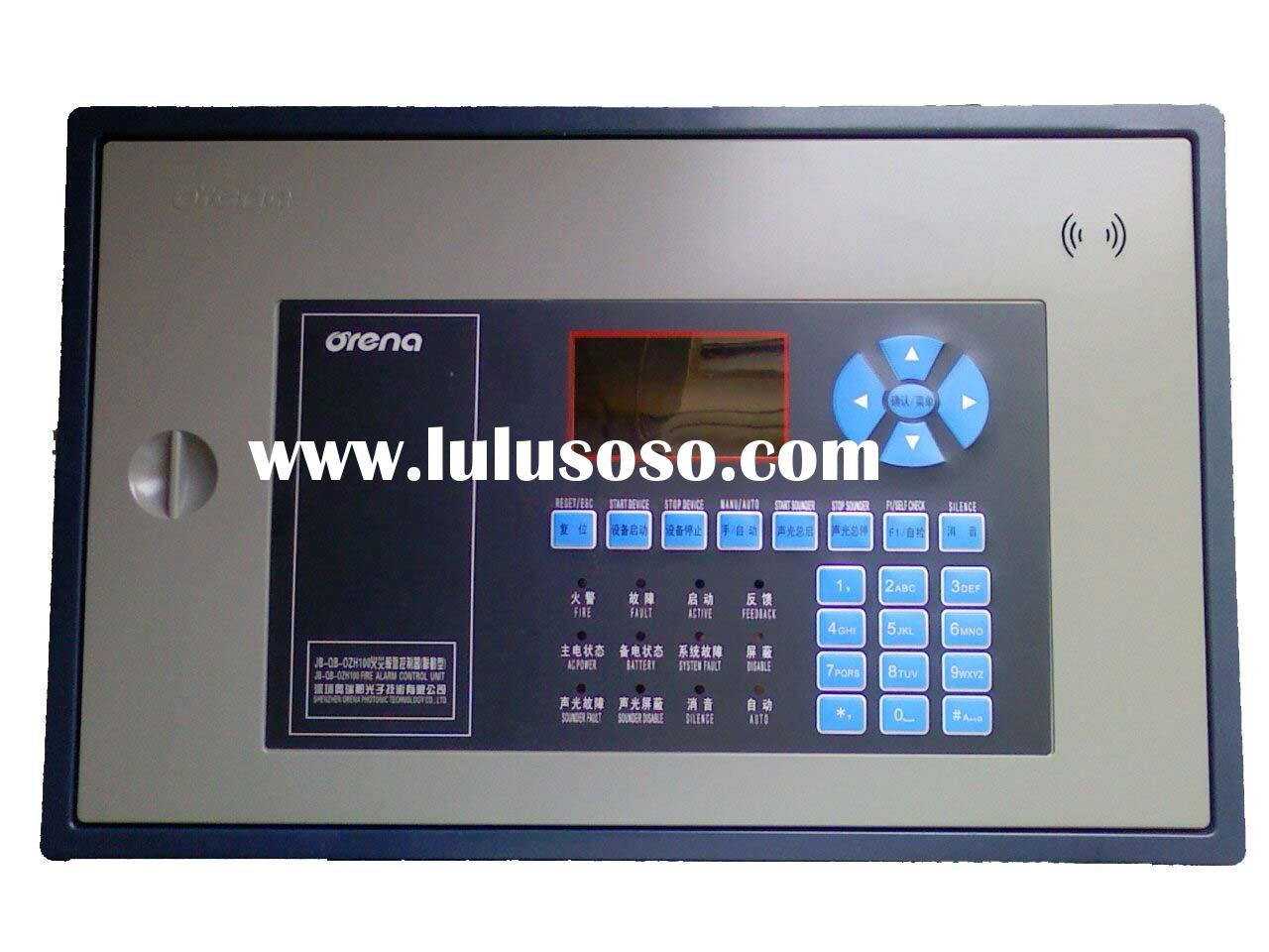 Economic One Loop Addressable Fire Alarm Control Panel OZH100