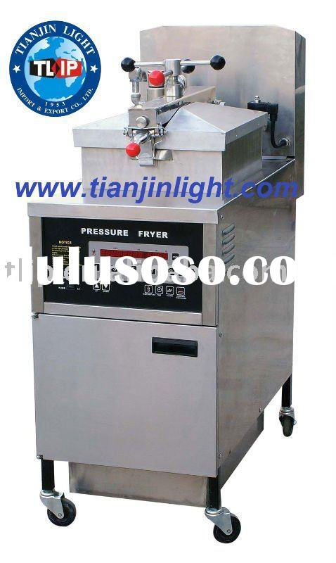 Electric Pressure Fryer With Oil Pump and Filter(CE Approved)